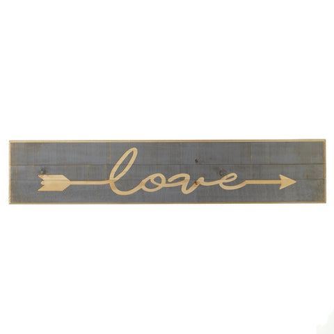 "Carved ""Love"" Wall Decor"