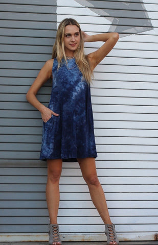Darby Tie Dye Swing Dress