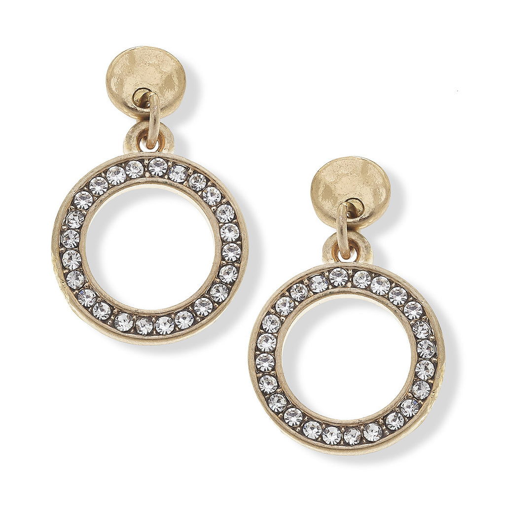 Blythe Pave Earrings