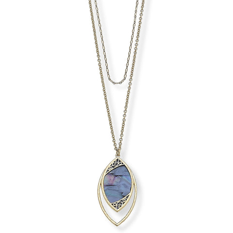Simone Layered Pendant Necklace
