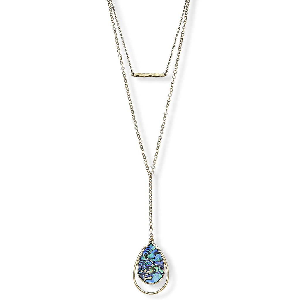 Luna Tiered Pendant Necklace
