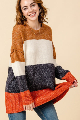 Carla Colorblock Sweater