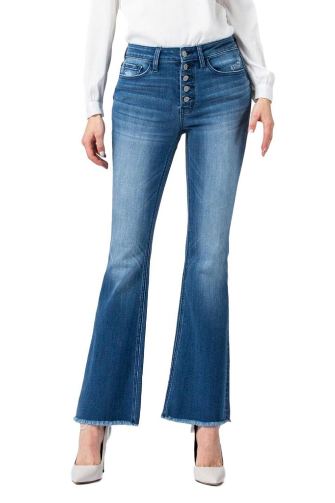 For You High Rise Flare Jeans
