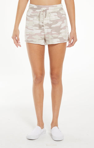 Camo Sporty Short, Mauve