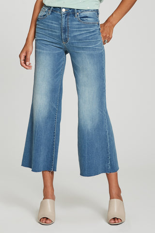 Charlotte Wide Leg Cropped Jeans