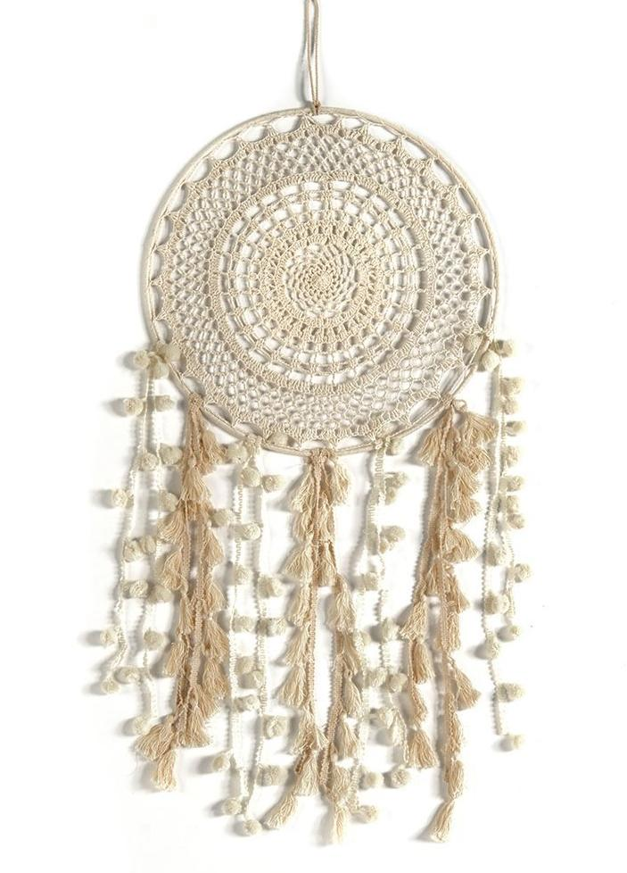 Boho Ivory Dream Catcher