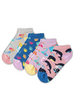 Fun Socks - Girl's Ocean Anklet Socks