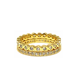 Ariana Stackable Ring Set In Gold
