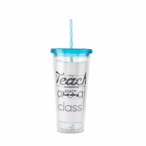 """True Story"" Teacher Tumbler N Towel"