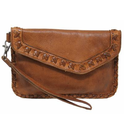 Marlin Clutch In Cognac