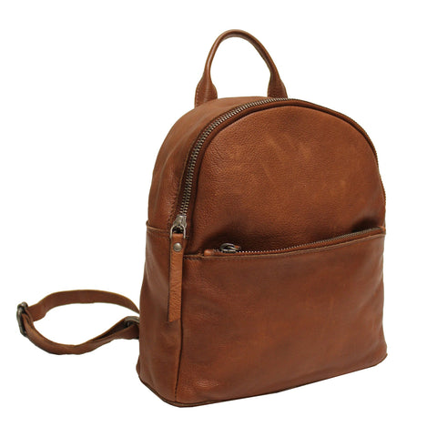 Gregg Leather Backpack – Cognac