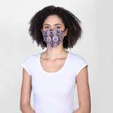 Reversible Face Mask - Blue Clay