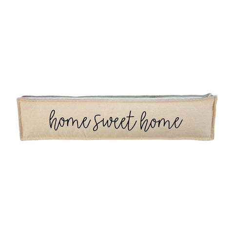 """Home Sweet Home"" Long Pillow"