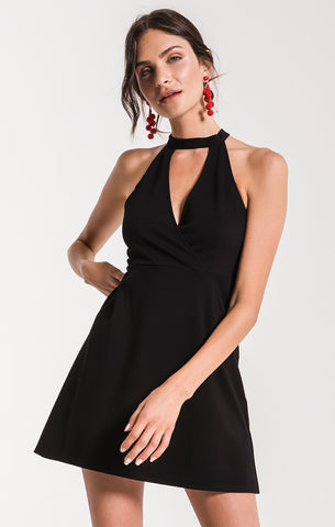 Black Swan Ella Keyhole Mini Dress