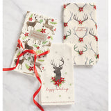 Holiday Deer Hand Towels