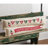 Long Skinny Gnome Pillow, Merry