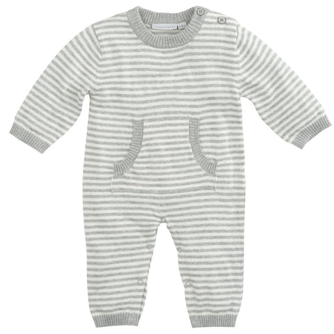 Stripe Knit Onesie