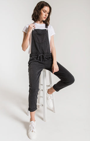 Z Supply Fiorella French Terry Overalls