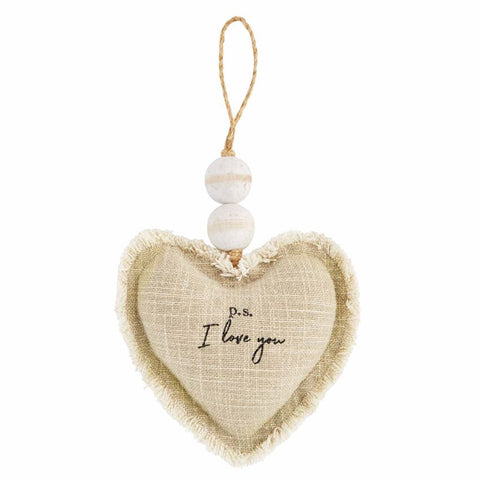 Heart Ornament, PS I Love You