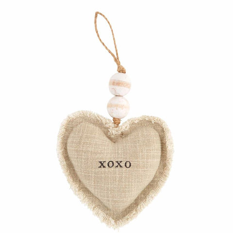 Heart Ornament, XOXO