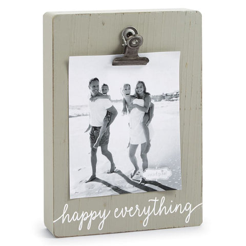 Mud Pie 'Happy Everything' Wooden Frame