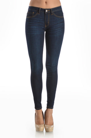 Serenity Mid Rise Super Skinny Jeans KanCan