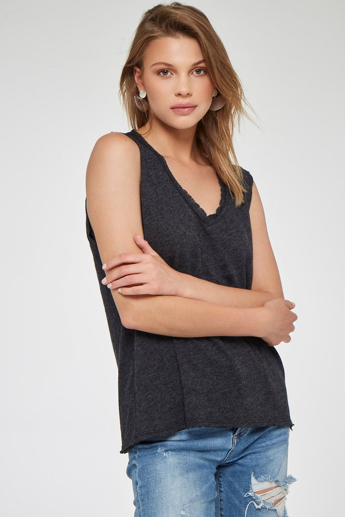 Project Social Tee GET TO IT TANK - BLACK