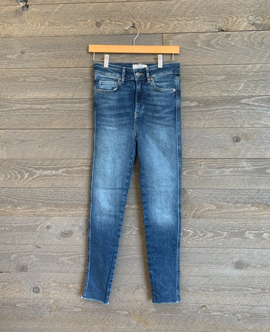 Free People Carpi Blue Jeans