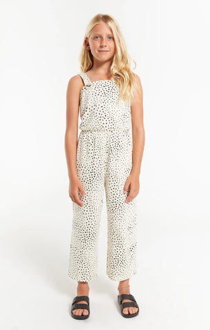 Girls' Jules Dot Jumpsuit