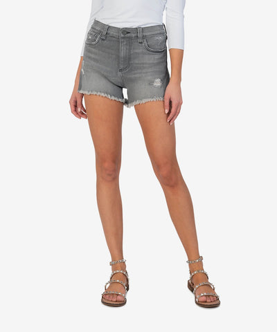 Jane Fray High Rise Short, Brimming Wash