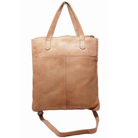 Preston Leather Handbag – Tan