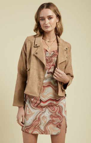Clover Jacket, Taupe