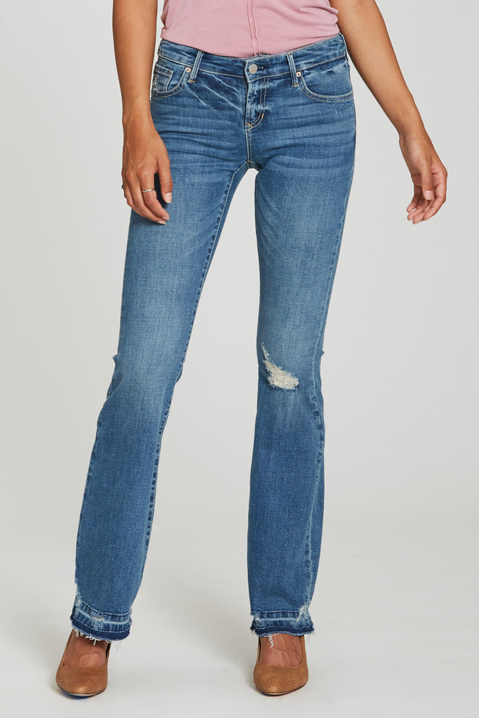 Sloane Midrise Bootcut Jeans in Avenue