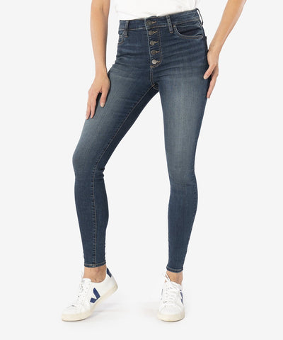 Mia High Rise Skinny Jeans, Goodly Wash