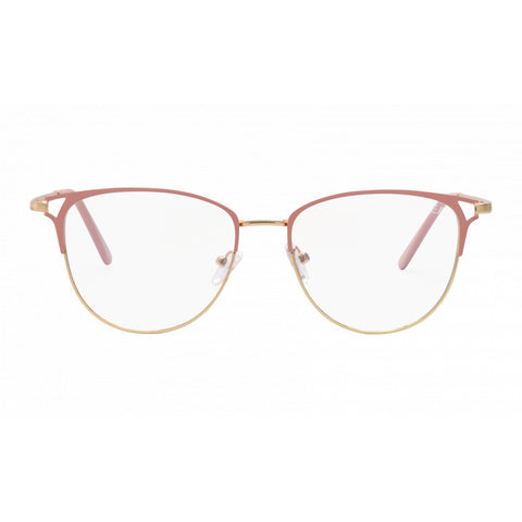 Jade Blue Light Glasses, Blush