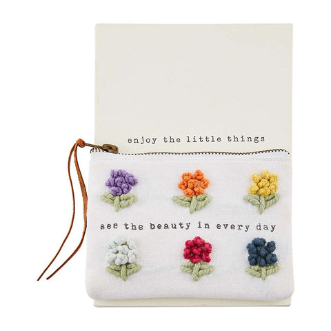 """See The Beauty"" Notebook & Pouch Set"