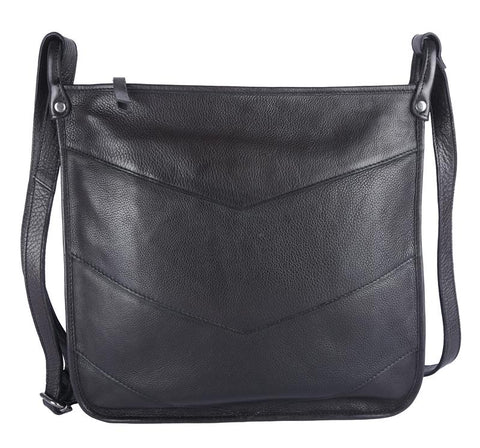 Simone Crossbody, Black
