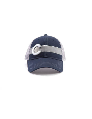 Republic Colorado Flag Trucker Hat In Navy