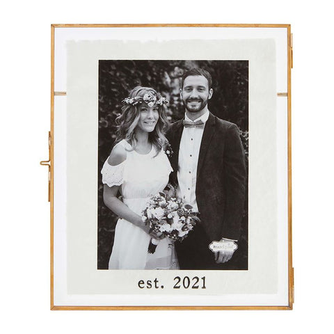Est. 2021 Glass Picture Frame