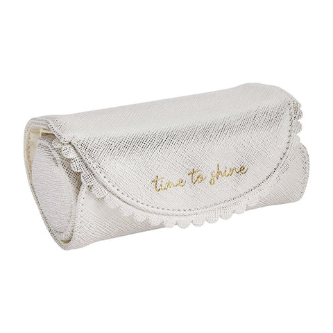 Jewelry Roll, White