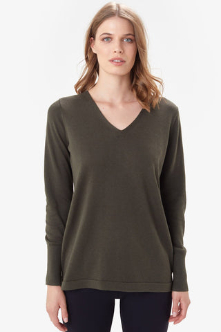 Cozy Martha Top by Lolë, Olive