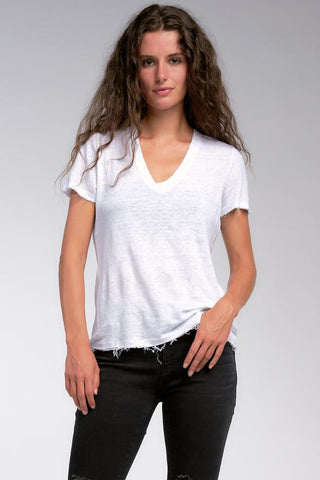 Lexie Short Sleeve V-Neck Top