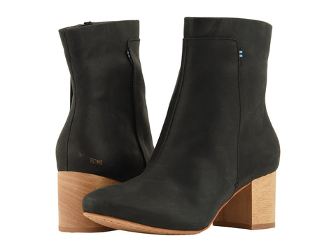 TOMS Evie Bootie In Black