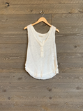 Free People Vacay Tank In White