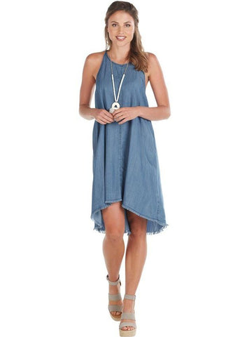 Ryan Swing Dress, Blue