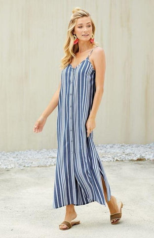 Lane Maxi Dress In Navy