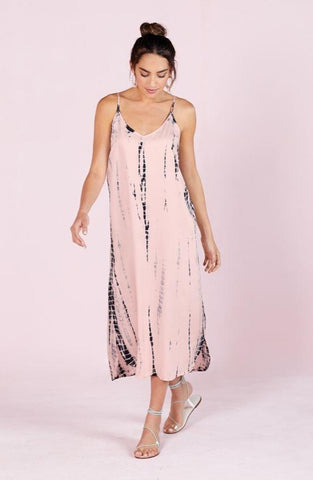 Amma Pink Tie Dye Dress