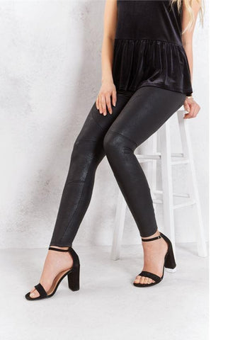 Cullen Faux Leather Leggings
