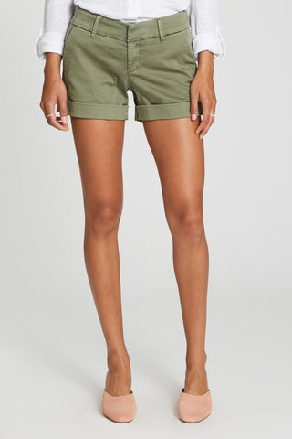 Hampton Midrise Shorts in Watercress