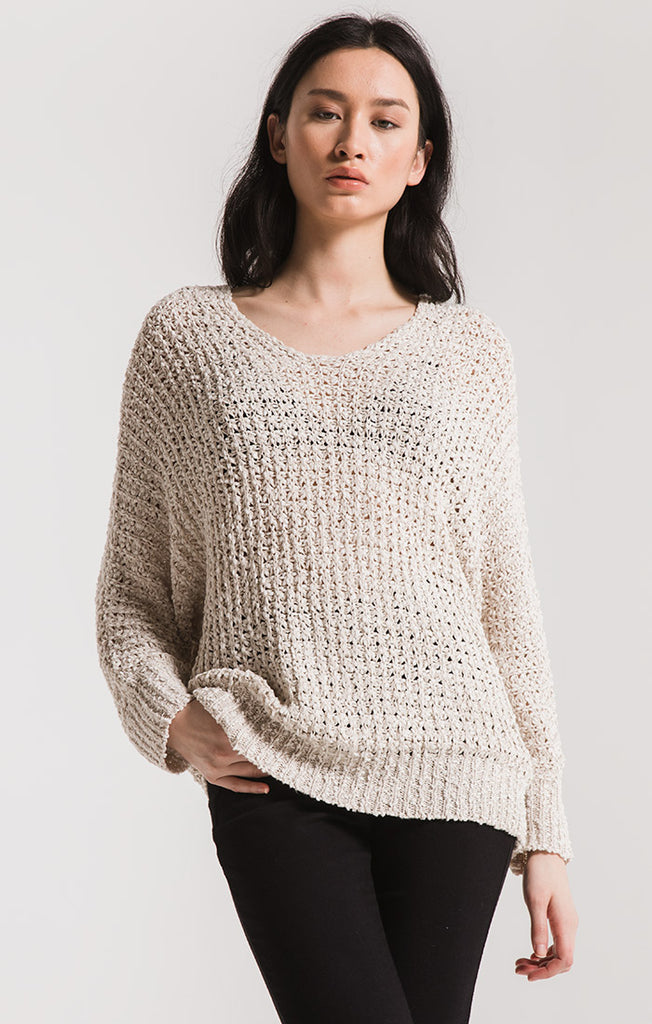 Laguna Open Knit Sweater